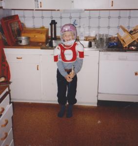 Vi hade diskmaskin. Foto: Lotta Berg