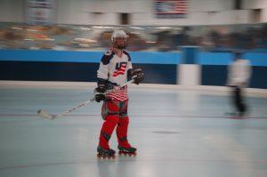 USA. Bäst på rullskridskohockey.